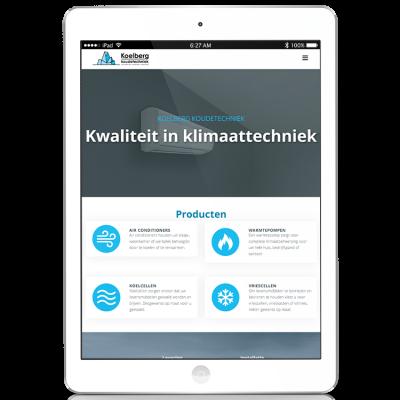 Koelberg Koudetechniek Website